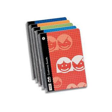 Cuaderno 40 hojas 4º C/2,5 mm. Lamela 79800027