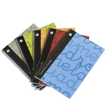 Cuaderno gris 80 hojas Folio C/3 mm. Lamela 79800041
