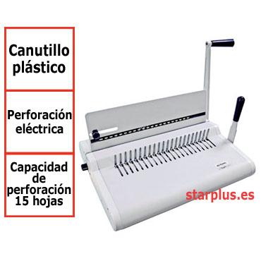 Encuadernadora canutillo TCC-21 eléctrica Yosan  0509TC21E