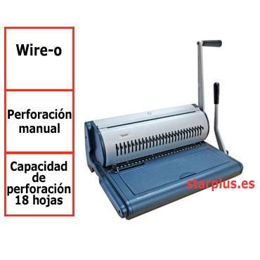 Encuadernadora W28 Yosan wire-o 3541ENW28