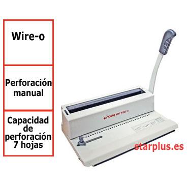 Encuadernadora Yosan OFI 3/1 wire-o  3541MIWIR