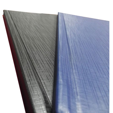 Cubierta cartón gofrado piel azul A-4 0,8 mm. Yosan  0510GPAZD