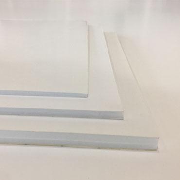 40 hojas cartón pluma adhesivo blanco 3 mm. A3 Yosan 05223HA3