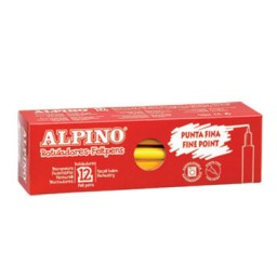 12 lápices color carne Alpino