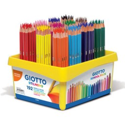 192 lápices de color Stilnovo Giotto 523400