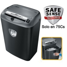Destructora Fellowes 75Cs para uso profesional