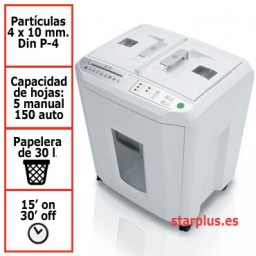Destructora papel IDEAL 8280 auto-feed uso moderado