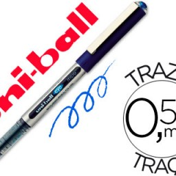 Rotulador uni-ball eye micro UB-150 azul 0.5 mm .