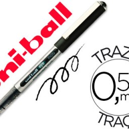 Rotulador uni-ball eye micro UB-150 negro 0.5 mm .
