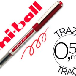 Rotulador uni-ball eye micro UB-150 rojo 0.5 mm .