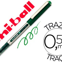 Rotulador uni-ball eye micro UB-150 verde 0.5 mm .