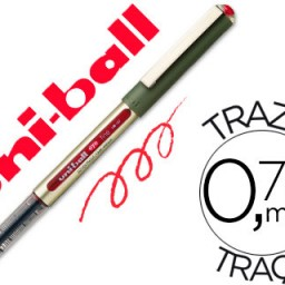Rotulador uni-ball eye UB-157 rojo 0,7 mm.