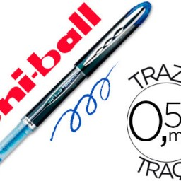 Rotulador uni-ball Vision UB-205 azul 0,5 mm.