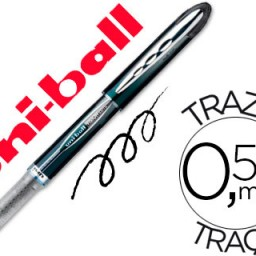 Rotulador uni-ball Vision UB-205 negro 0,5 mm.