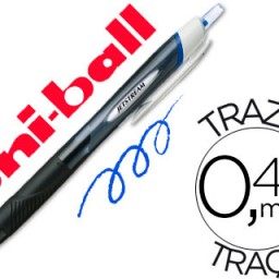 Boligrafo uni-ball Jetstream Sport SXN-150 azul.