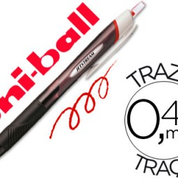 Boligrafo uni-ball Jetstream Sport SXN-150 rojo.