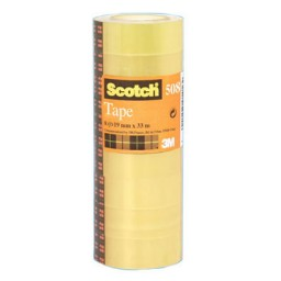 Pack 12 cinta adhesiva 12 mm. x 66 m. Scotch