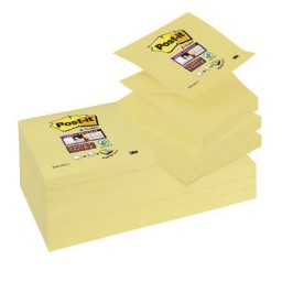 BL90 Z-Notes Super Sticky amarillo 76 x 76 mm. Post-it R330-12SS