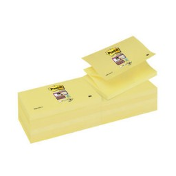BL90 Z-Notes Super Sticky amarillo 76 x 127 mm. Post-it R350-12SS