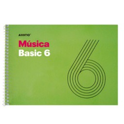 Bloc de música Basic 6 Additio M06