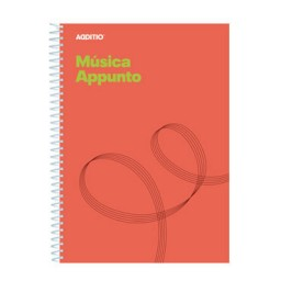 Bloc de música Appunto Additio M12