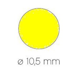 Gomet amarillo ø 10,5 mm. Apli 04851