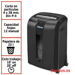 Destructora papel Fellowes 73Ci uso profesional 4601101