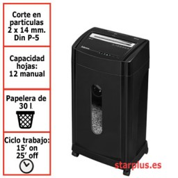 Destructora papel Fellowes 46Ms uso profesional 4817101