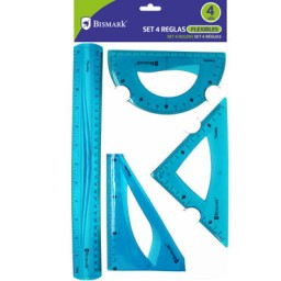 Set de reglas PVC flexible