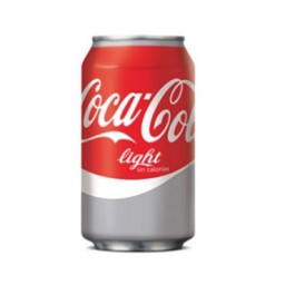 24 latas Coca Cola Light 33 cl.  COLIGHT