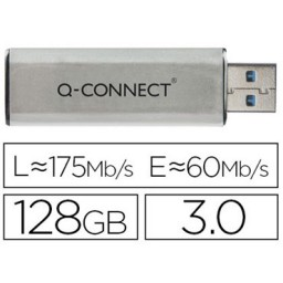 Memoria USB 128 GB Q-Connect