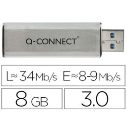 Memoria USB 8 GB Q-Connect