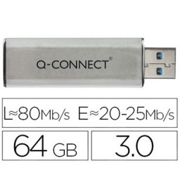 Memoria USB 64 GB Q-Connect