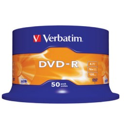 SP50 DVD-R 4,7GB Verbatim 43548